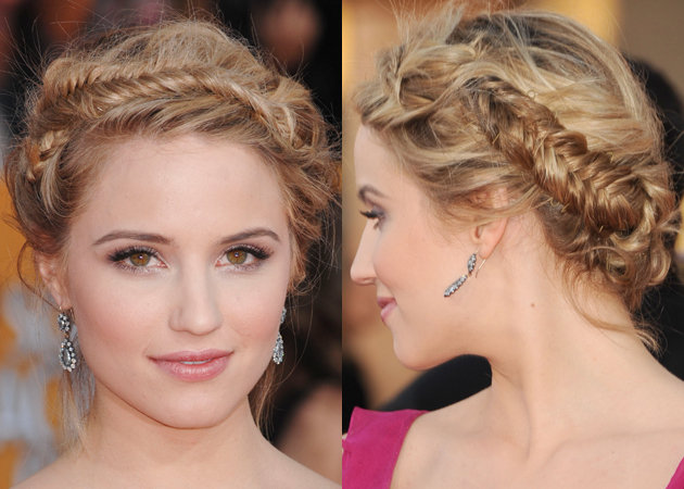 celebrity-hair-sag-awards-2012-diana-agron-2